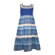 Bonnie Jean® Sleeveless Maxi Dress - Preschool Girls 4-6x