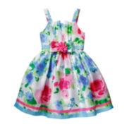 Emily West® Sleeveless Floral Princess Dress - Girls 7-12