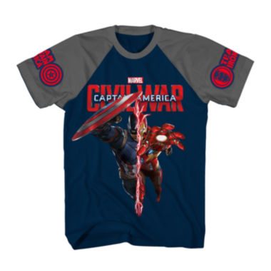 jcpenney.com | Marvel® Civil War Short-Sleeve Tee - Boys 8-20
