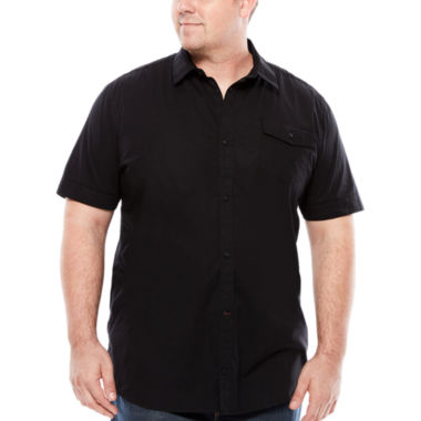 jcpenney.com | i jeans by Buffalo Short-Sleeve Mikilo Shirt - Big & Tall