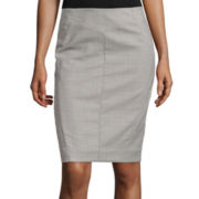 Worthington® Seamed Pencil Skirt - Misses and Petite