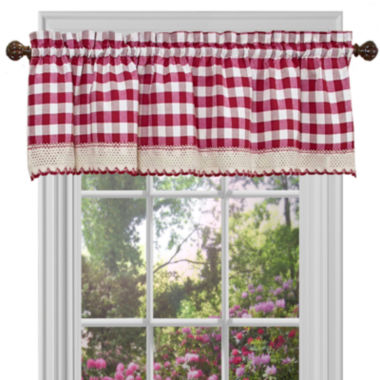 jcpenney.com | Buffalo Check Rod-Pocket Valance