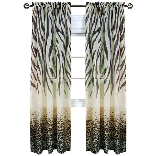 Kenya Rod-Pocket Curtain Panel