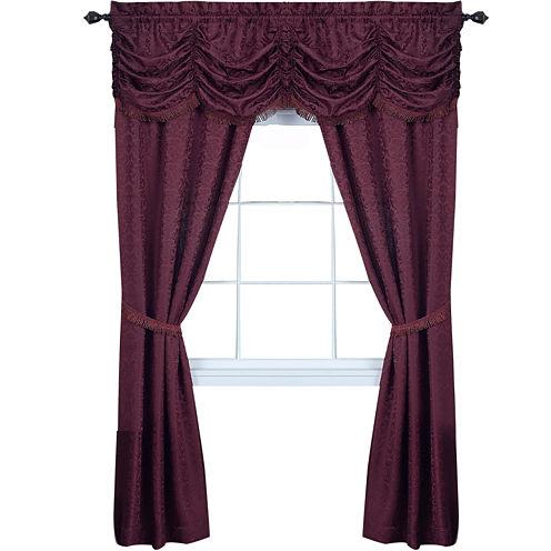 Panache 5-pc. Rod-Pocket Curtain Set