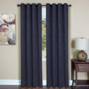 Austin Blackout Grommet-Top Curtain Panel