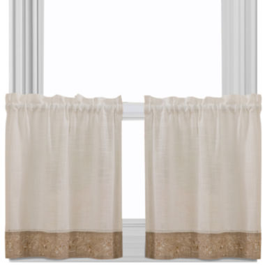 jcpenney.com | Oakwood Rod-Pocket Window Tiers