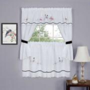 Arden Embellished Cottage Window Tier and Topper Set
