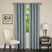 Jensen Blackout Grommet-Top Curtain Panel