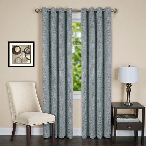 Jensen Blackout Grommet-Top Curtain Panel