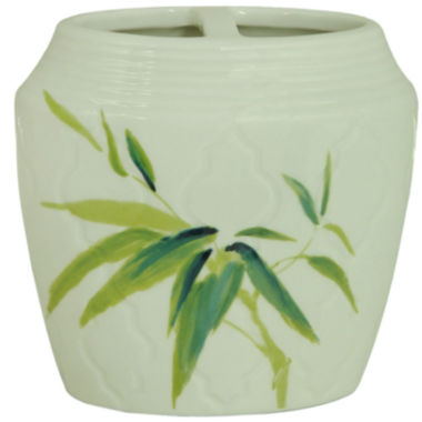 jcpenney.com | Bacova Zen Bamboo Toothbrush Holder