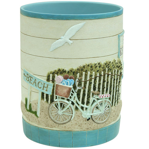 Bacova Beach Cruiser Wastebasket