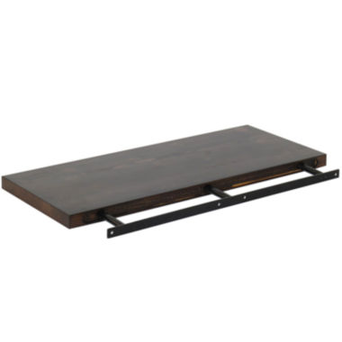 "jcpenney.com | Solid Wood 24"" Floating Wall Shelf"