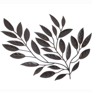 jcpenney.com | Metal Leaves Wall Decor