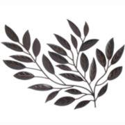 Metal Leaves Wall Decor