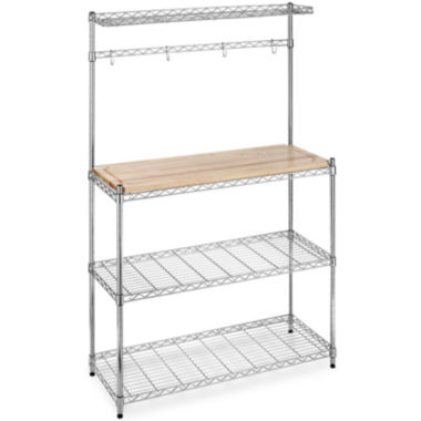 jcpenney.com | Whitmor Supreme Microwave Bakers Rack