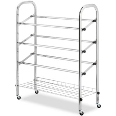 jcpenney.com | Whitmor Rolling Shoe Rack