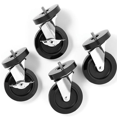 Whitmor 4-pc. Supreme Wheels