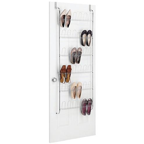 Whitmor Over-the-Door 18-pr. Shoe Rack