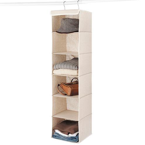 Whitmor Linen Hanging Accessory Shelves