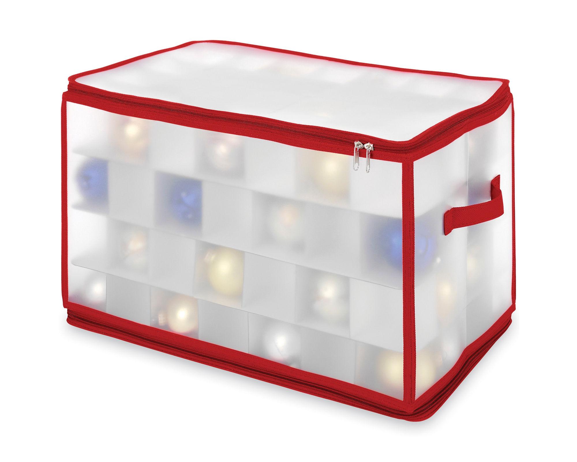 Whitmor Ornament Large Zip Storage Cube