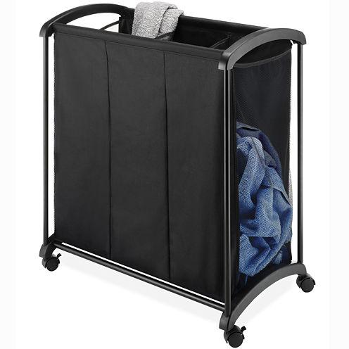 Whitmor 3-Section Laundry Sorter