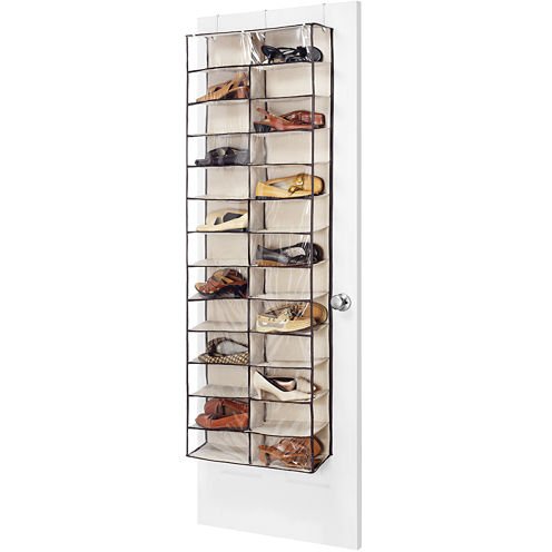 Whitmor Over-The-Door 26-Pair Shoe Organizer