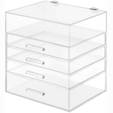 jcpenney.com | Whitmor 5-Tier Acrylic Cosmetic Organizer