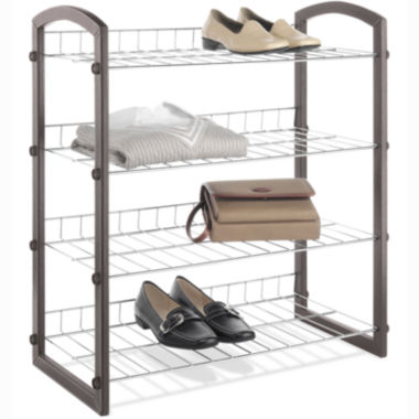 jcpenney.com | Whitmor Faux Leather Wire Closet Shelves