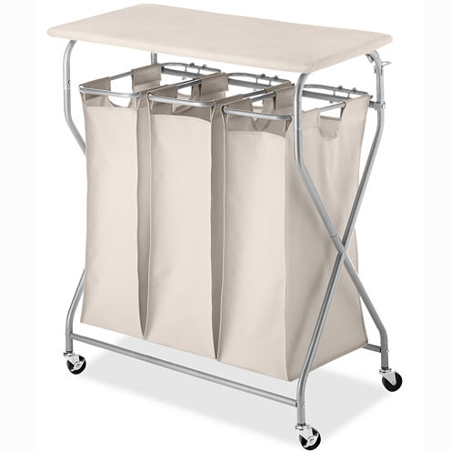 Whitmor EasyLift Laundry Sorter Table