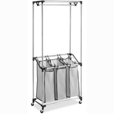 jcpenney.com | Whitmor Chrome Laundry Center with Mesh Bags