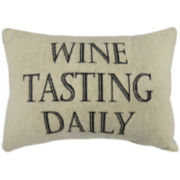 Park B. Smith® Wine Tasting Daily Decorative Pillow