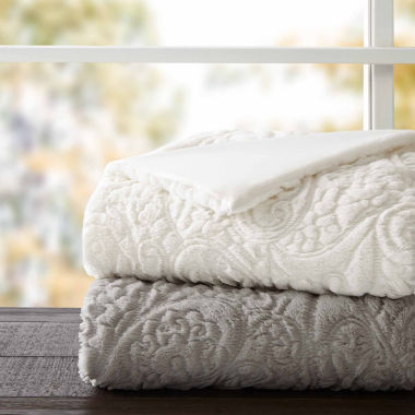 jcpenney.com | Madison Park Albany Ultra Plush Quilted Throw