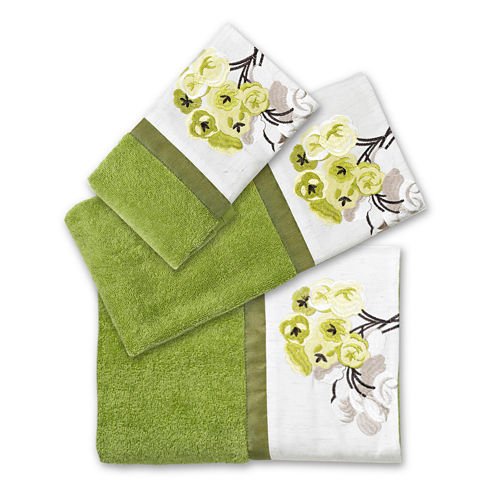 Popular Bath Canteen Flower 3-pc. Bath Towel Set