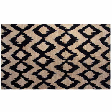 jcpenney.com | Chesapeake Merchandising Ikat Printed Jute Cotton Area Rug