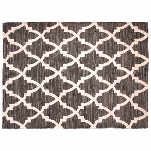 Chesapeake Merchandising Sawyer Chindi Print Rectangular Rugs