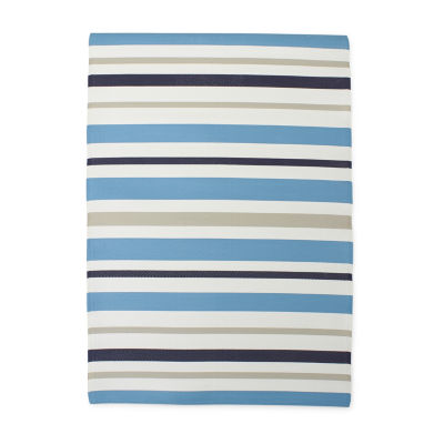 Outdoor Oasis Multi Color Stripes