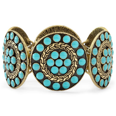 jcpenney.com | Arizona Blue Disc Stretch Bracelet