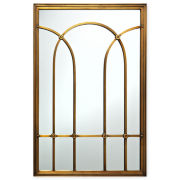 MarthaMirrors™ Archway Window Pane Wall Mirror