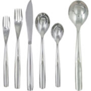 Ginkgo Charlie 42-pc. Flatware Set