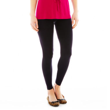 jcpenney.com | Mixit™ Seamless Black Leggings