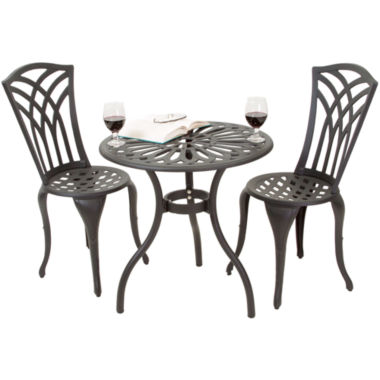 jcpenney.com | Antigua 3-pc. Outdoor Cast Aluminum Bistro Set