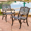 Saint Barth 5-pc. Outdoor Cast Aluminum Dining Set