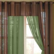 Linden Street™ Solid Textured Grommet-Top Insert Valance
