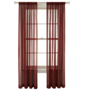 Royal Velvet® Lantana Rod-Pocket Sheer Curtain Panel