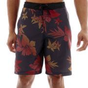 Speedo® Ombre Floral E-Board Shorts