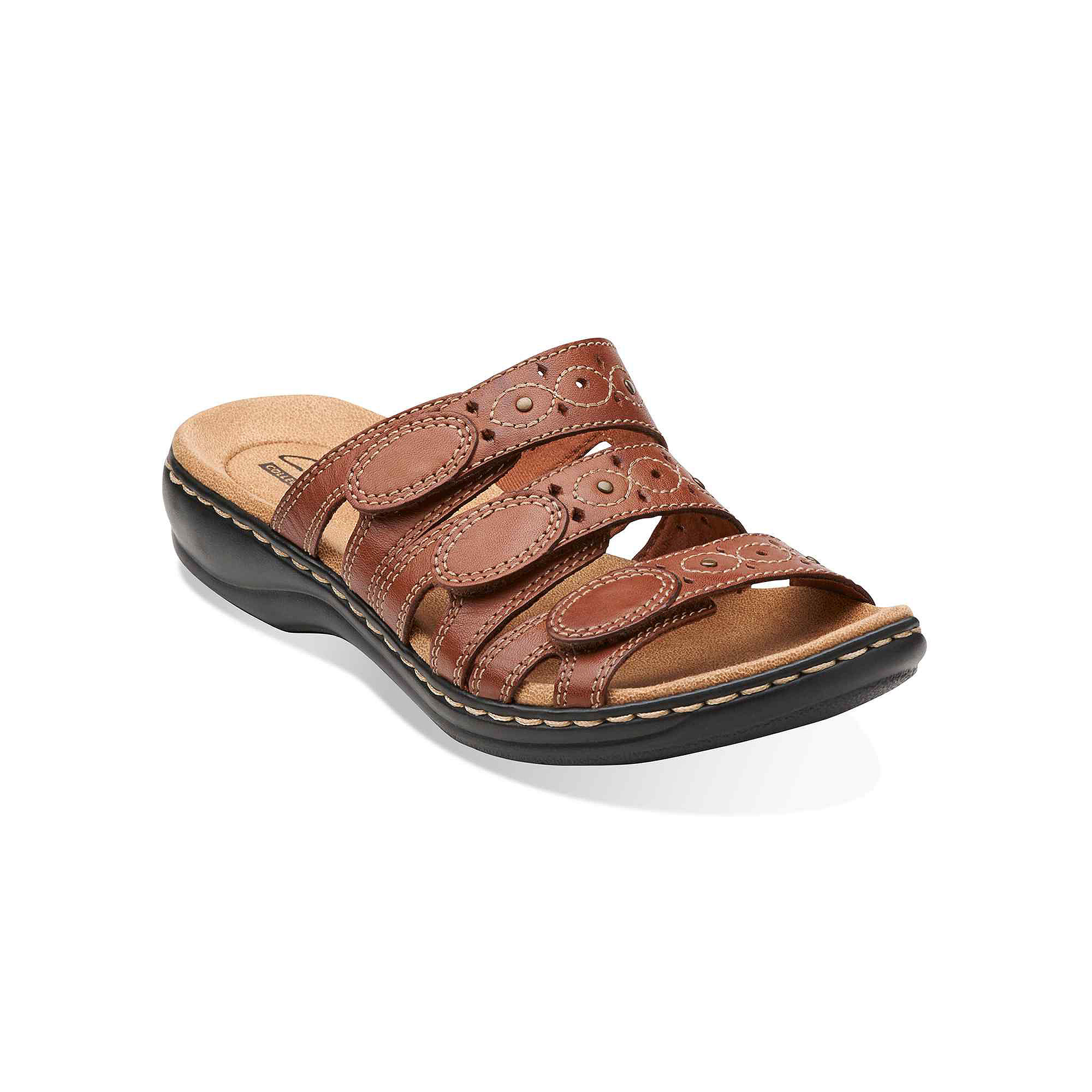 f13082d59bb1 UPC 889303109272 product image for Clarks Leisa Cacti Womens Open-Toe Leather  Sandals