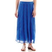 St. John's Bay® Lace Maxi Skirt