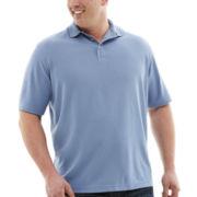 Van Heusen® Short-Sleeve Ottoman Polo–Big & Tall