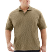 Van Heusen® Short-Sleeve Space Dye Polo–Big & Tall
