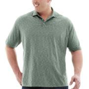 Van Heusen® Short-Sleeve Space Dye Polo–Big & Tall